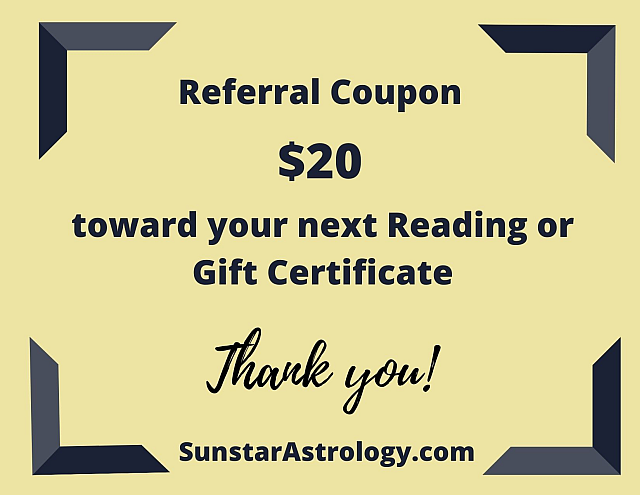 Astrology Reading Coupon
